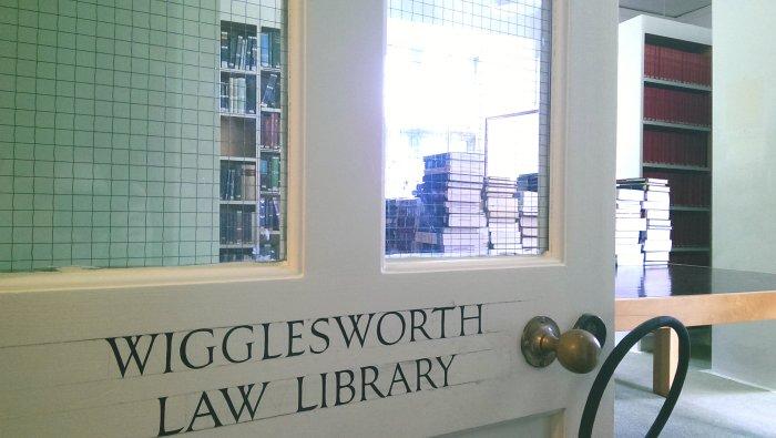 Wigglesworth through door