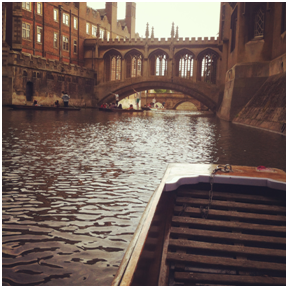 View of the Bridge of Sighs, St. John's College