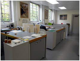 Conservation department at the UL